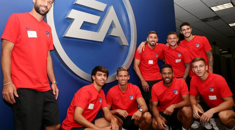 Atletico Madrid presso HQ di EA Sports per i face scan