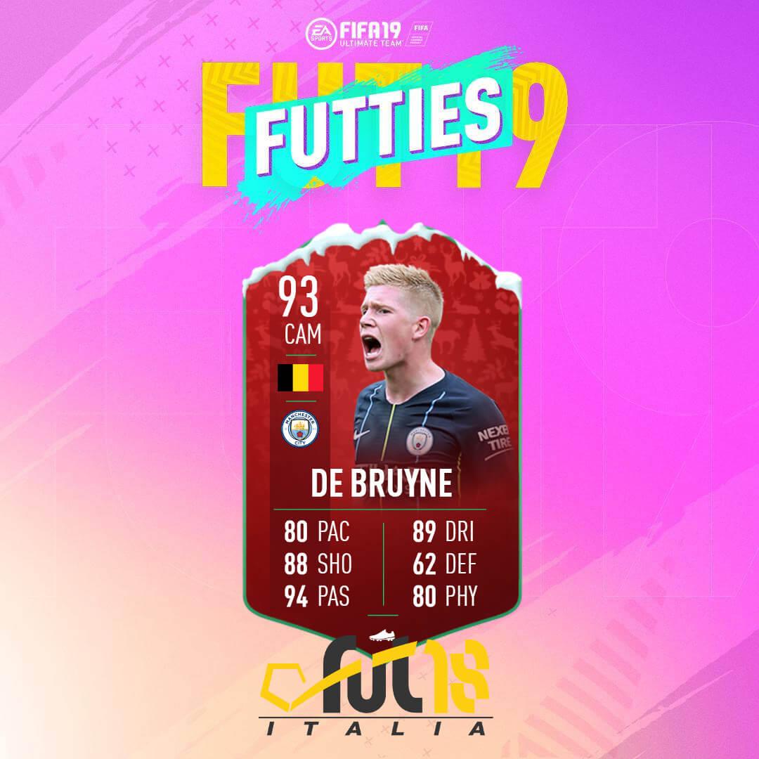 De Bruyne 93 FutMas - FIFA 19 Futties SBC