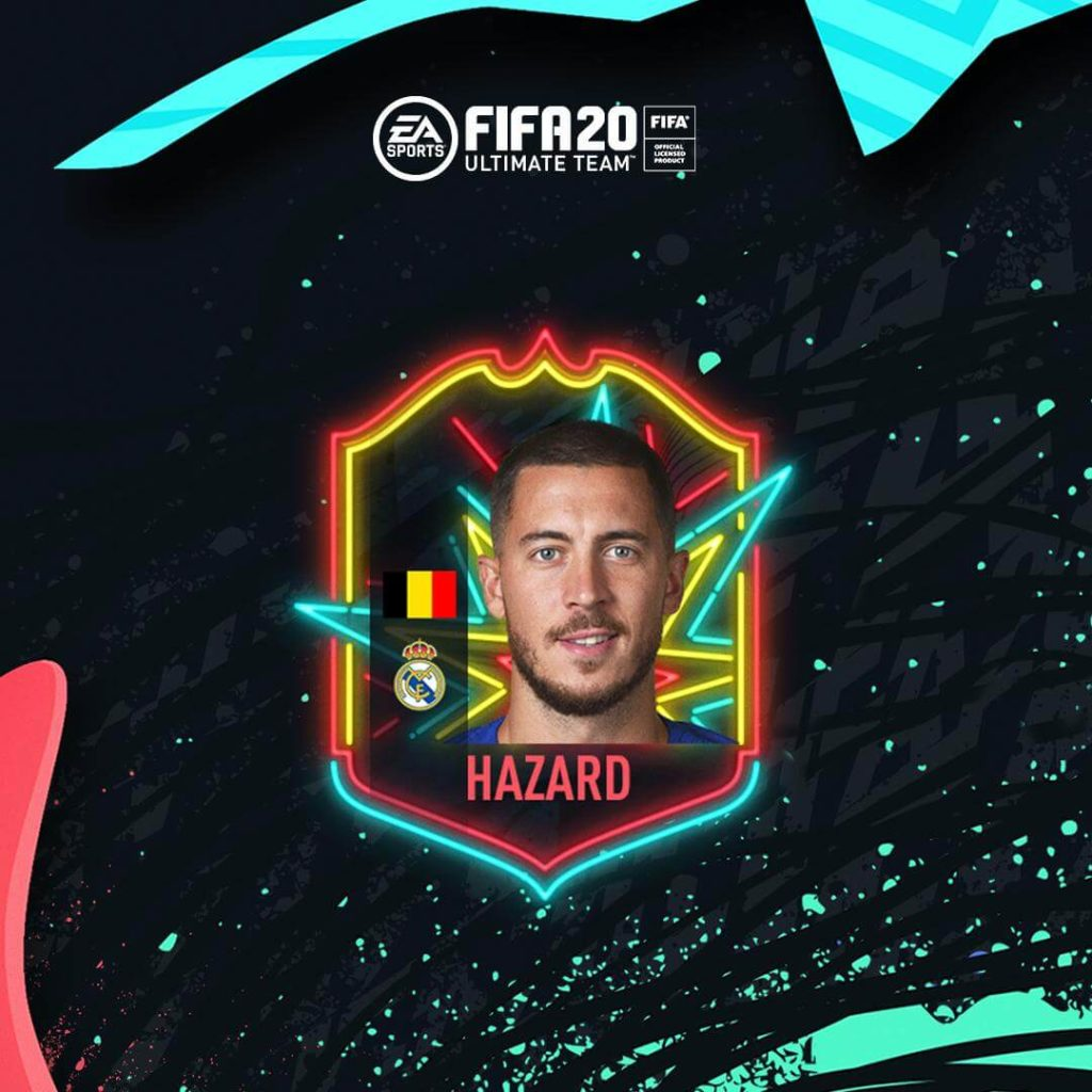 Eden Hazard Ones to Watch in FIFA 20 Ultimate Team