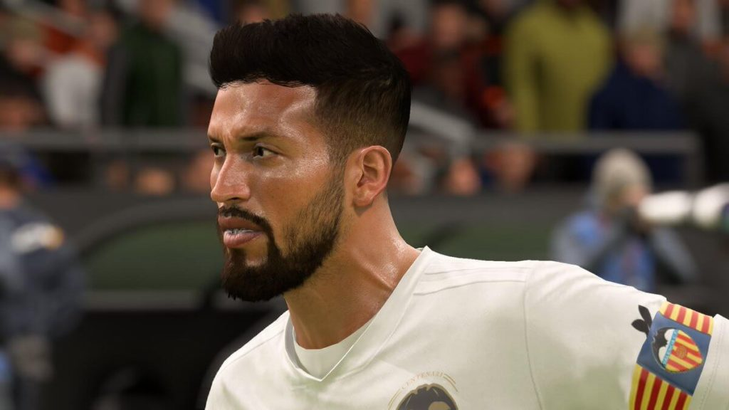 FIFA 19 - Ezequiel Garay face scan