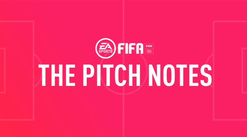 FIFA 19 - Pitch notes