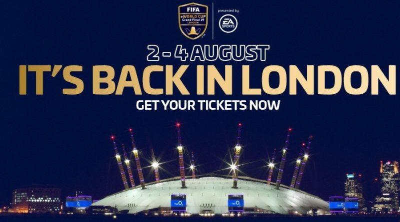 FIFA eWorld Cup 2019, Londra 4 luglio 2019