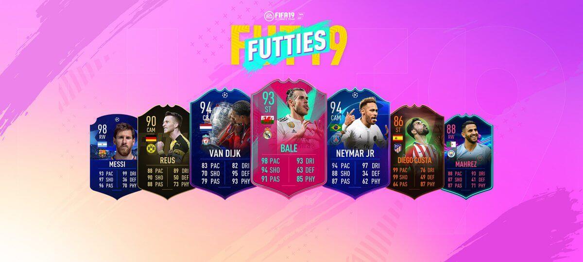 Futties - Migliori giocatori della stagione nuovamente nei pacchetti
