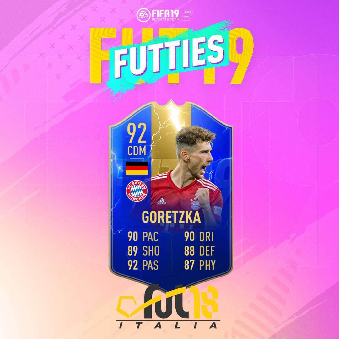 Goretzka TOTS - FIFA 19 Futties SBC