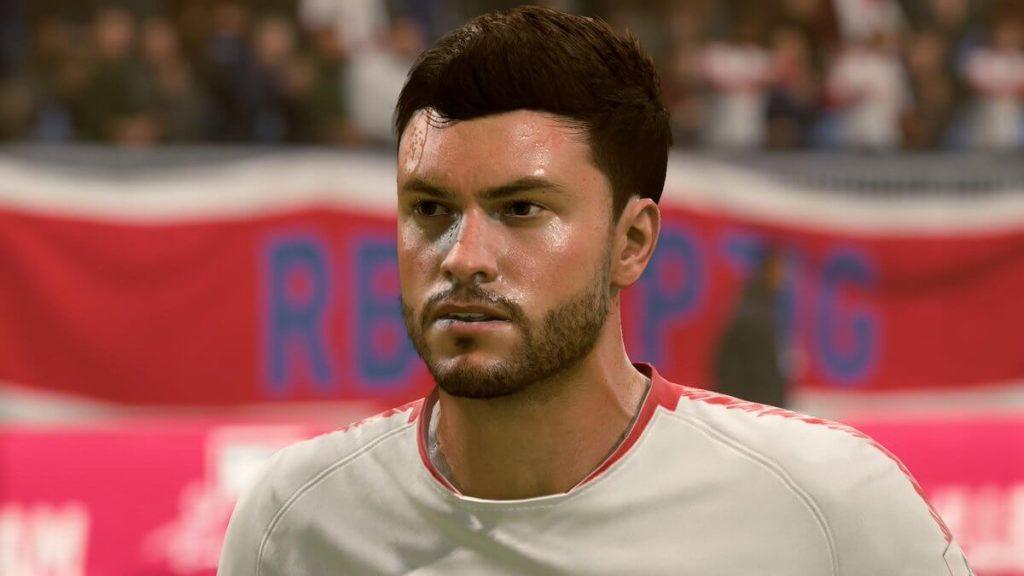 FIFA 19 - Jonas Hector face scan