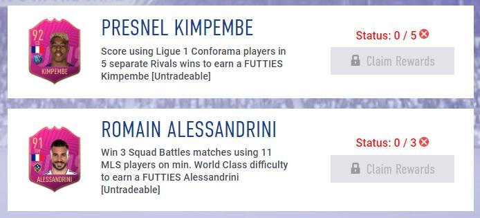 Kimpembe e Alessandrini Futties via obiettivi settimanali