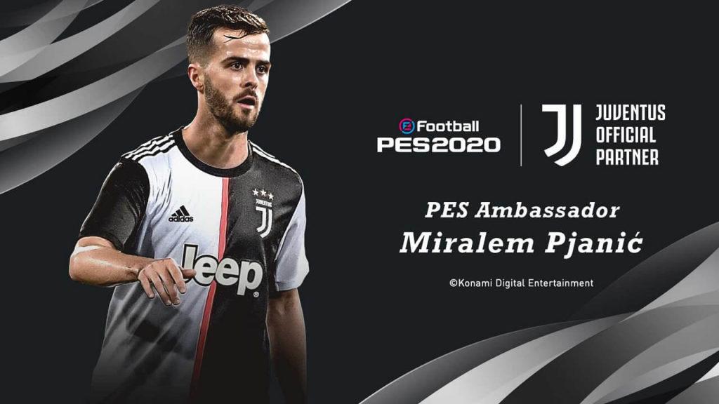 Partnership ufficiale fra Konami e Juventus FC - Pjanic testimonial