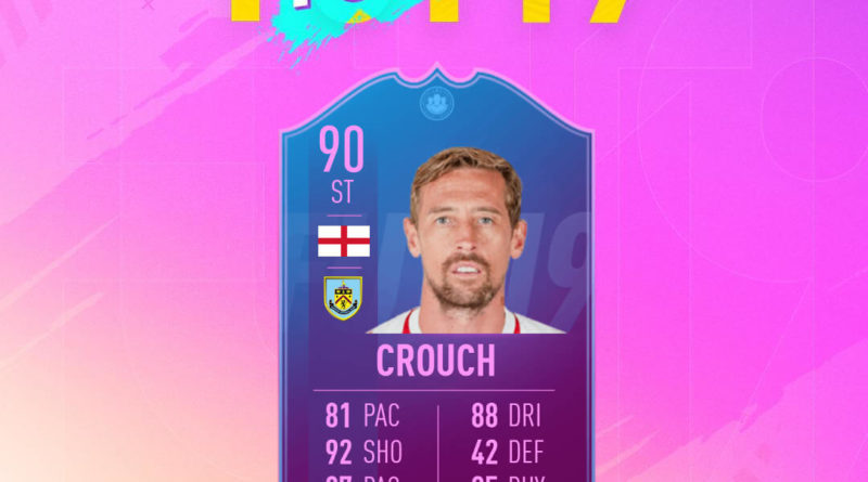 Peter Crouch 90 fine di un'era Futties SBC