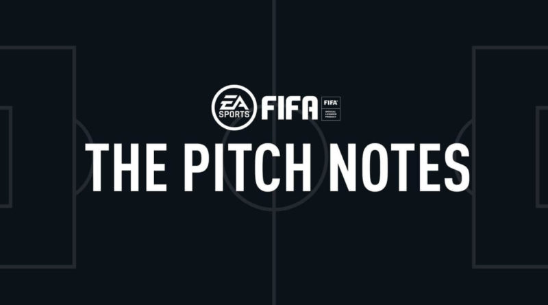 EA Sports FIFA 20 Pitch Notes
