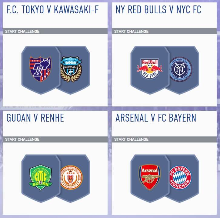 FIFA 19 - SCR incontri principali dell'11 luglio