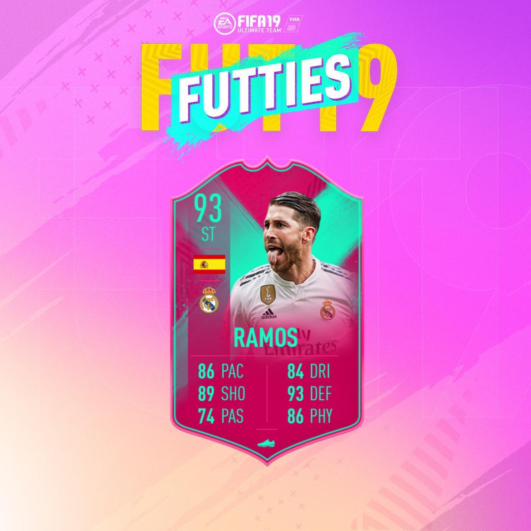 Sergio Ramos FUTbirthday Futties SBC
