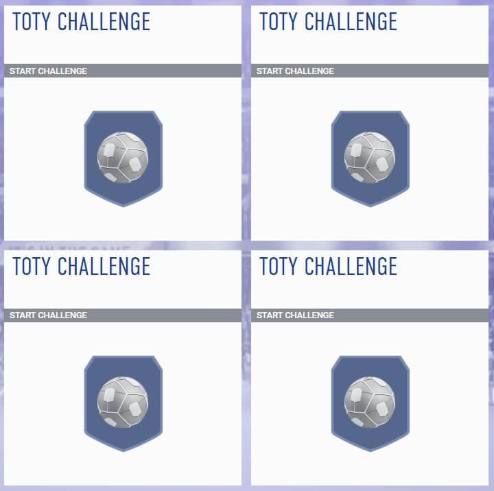 FIFA 19 Futties - TOTY Challenge SBC