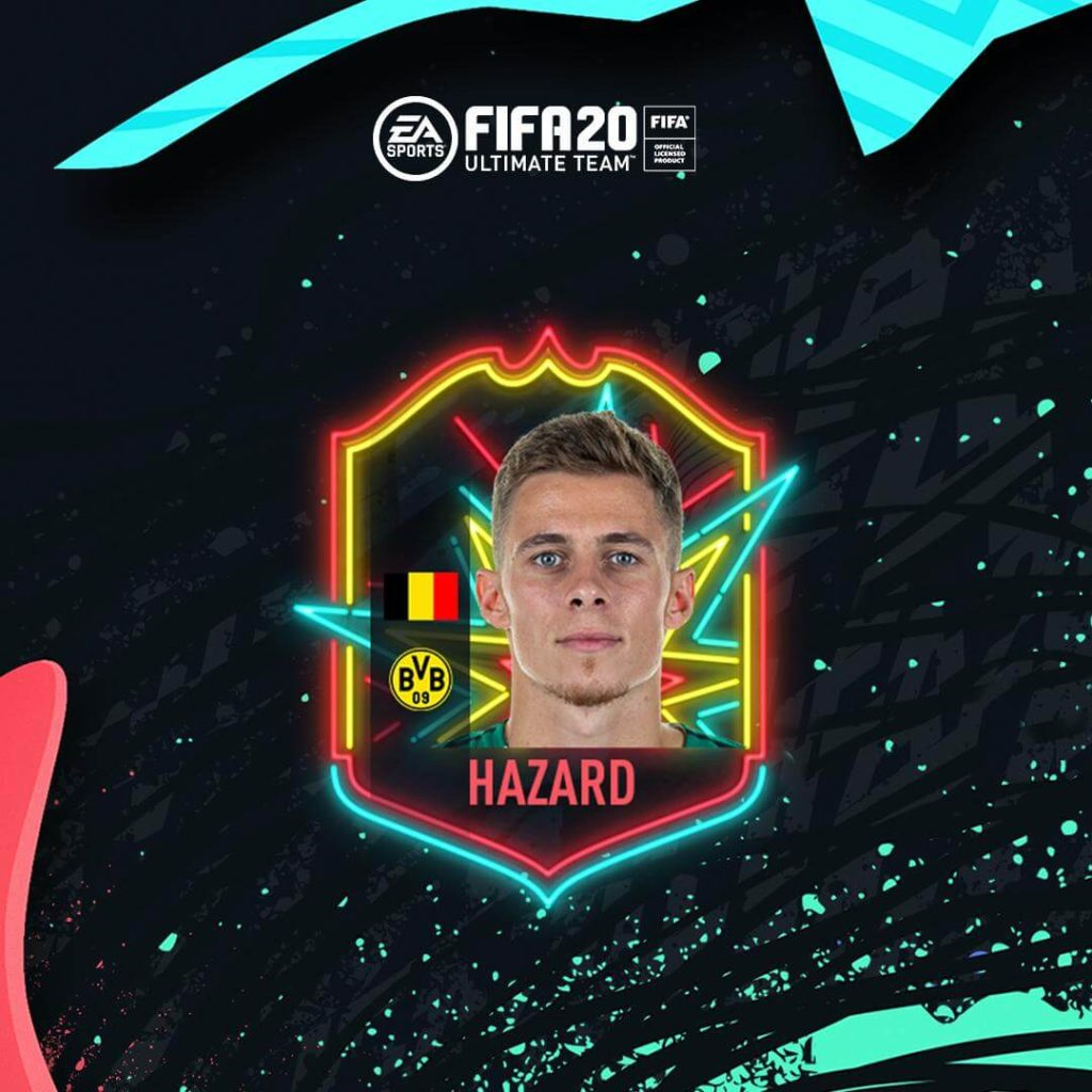 Thorgan Hazard Ones to Watch in FIFA 20 Ultimate Team