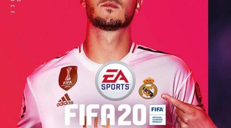 Cover FIFA 20 PS4 con Eden Hazard