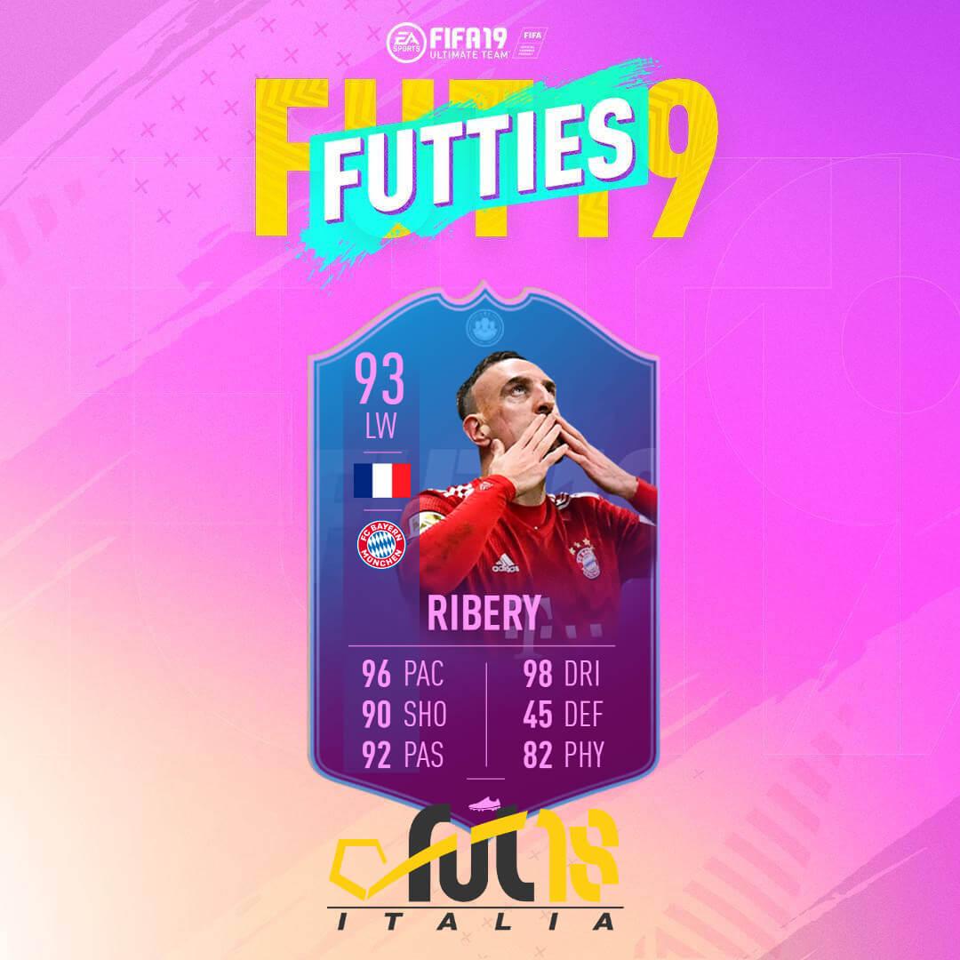 Ribery FIne di un'Era - Futties FIFA 19