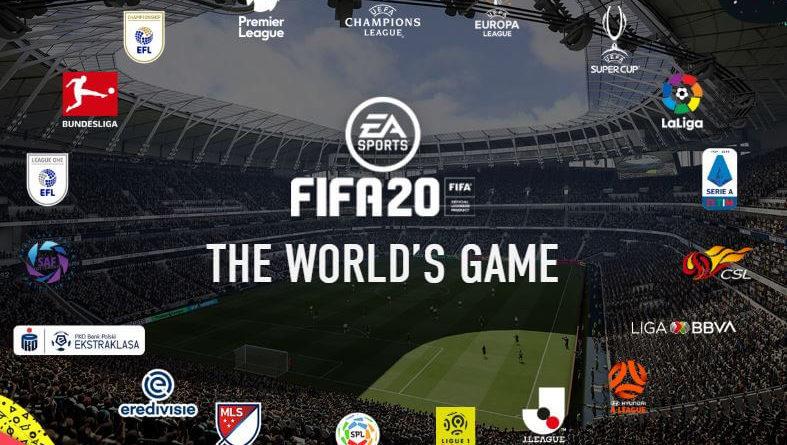 Lista campionati con licenza ufficiale su FIFA 20