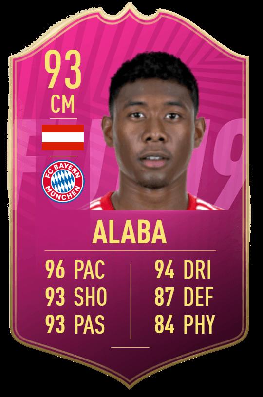 Alaba 93 Futties SBC