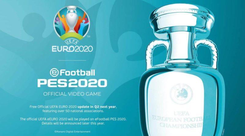 Licenza ufficiale di EURO 2020 in eFootball PES 2020