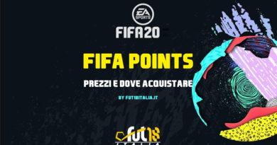 FIFA 20: prezzo dei FIFA Points e dove comprarli