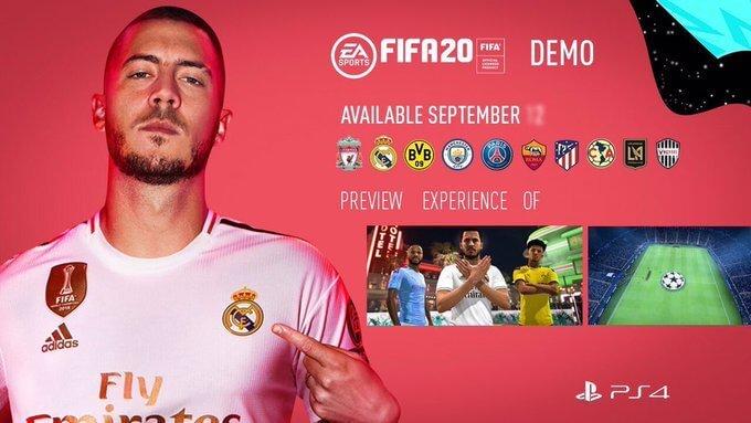 FIFA 20 DEMO - 12 settembre 2019