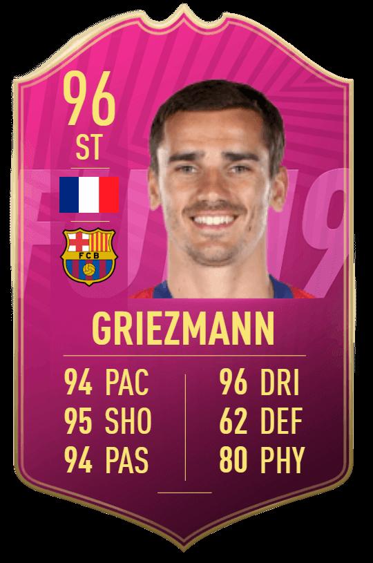 Griezmann 96 Futties SBC