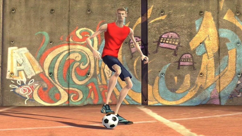 Peter Crouch in FIFA Street