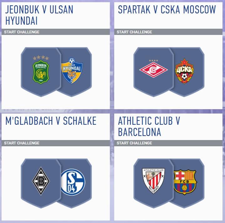 SCR incontri principali del 15 agosto - FIFA 19
