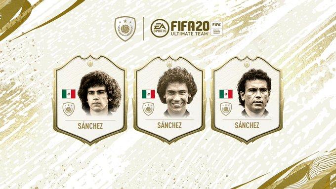 Hugo Sanchez, icon in FIFA 20 Ultimate Team