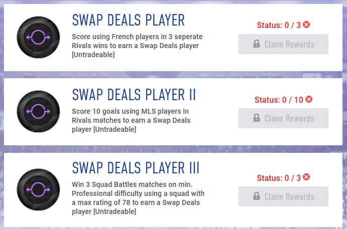 Swap deals 2 agosto tramite obiettivi settimanali - FIFA 19