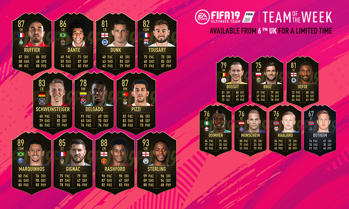 Team of the Week 42 - FIFA 19