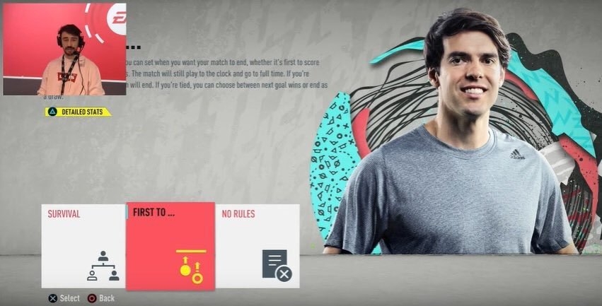 Kakà icon in FIFA 20 Ultimate Team