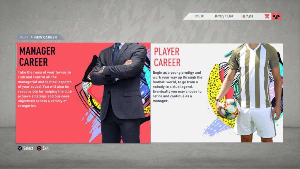Modalità carriera in FIFA 20, le novità
