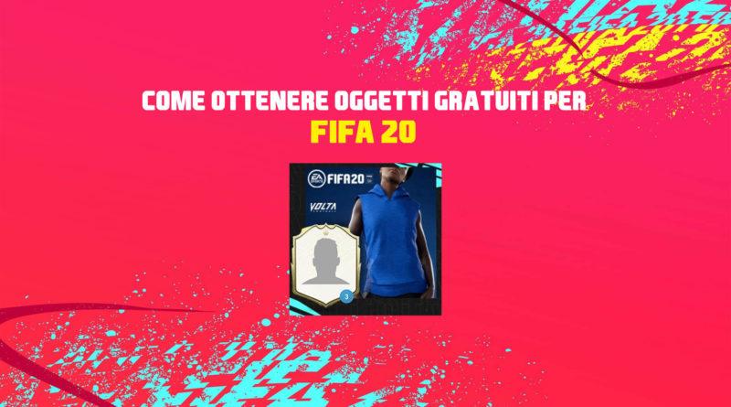 FIFA 20: come ottenere due oggetti gratuiti