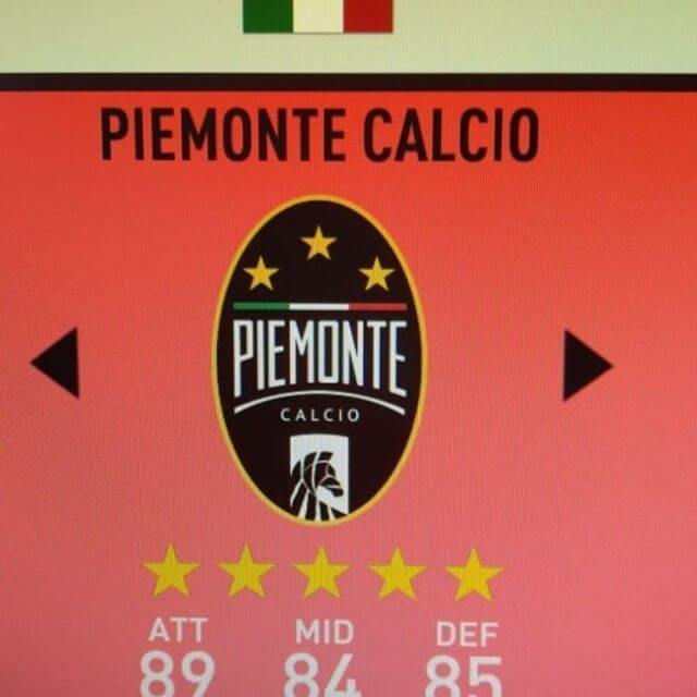 Stemma Piemonte Calcio su FIFA 20