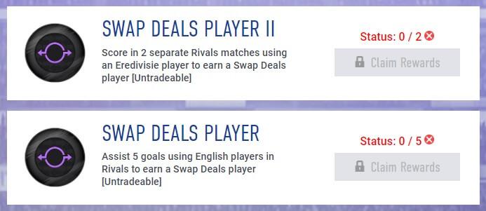 Obiettivi settimanali Swap del 9 agosto - FIFA 19