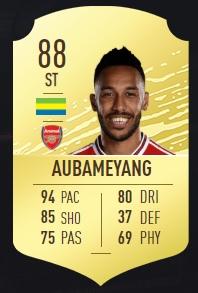 Aubameyang - FIFA 20 Ultimate Team