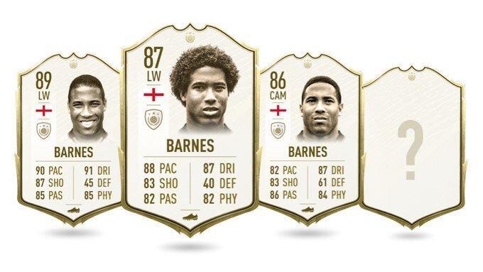 Barnes Icona in FIFA 20 Ultimate Team