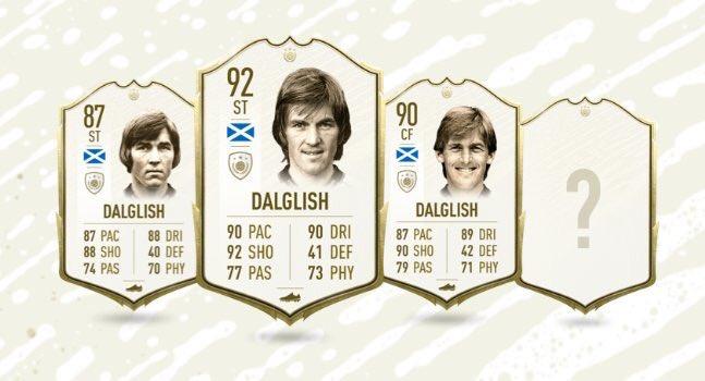 Dalglish Icona in FIFA 20 Ultimate Team