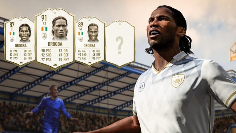 Didier Drogba Icon in FUT 20 - Stats ufficiali
