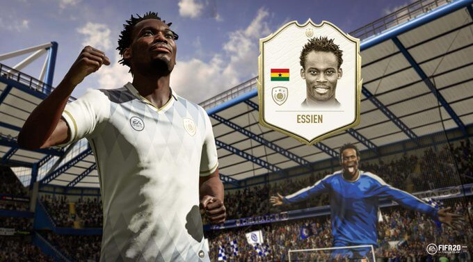 Michael Essien Icon in FIFA 20