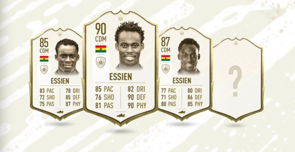 Essien in FIFA 20 Ultimate Team, le stats