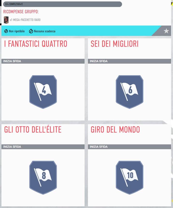 SFIDA CREAZIONE ROSA | NAZIONALITA' MISTE | GLI OTTO DELL' ELITE | FIFA 20