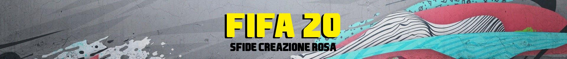 FIFA 20 Sfide creazione rosa