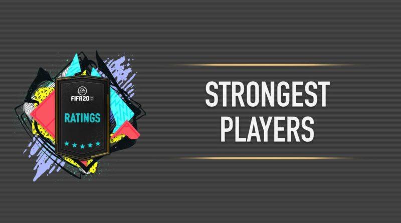 FIFA 20 - Classifica dei giocatori con più forza