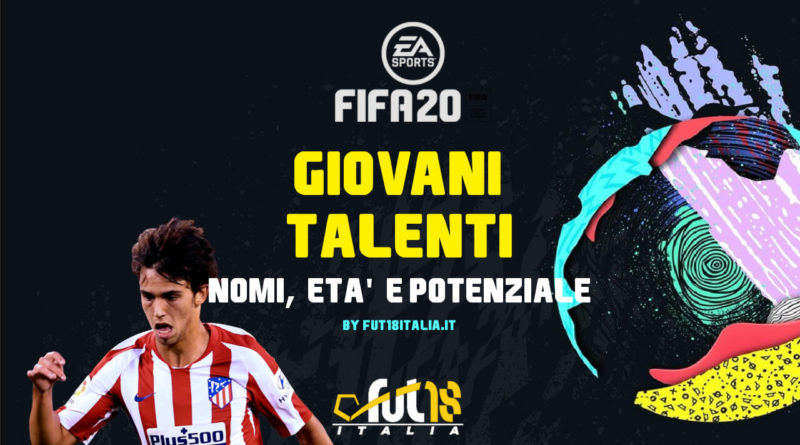 FIFA 20: giovani talenti nel gioco