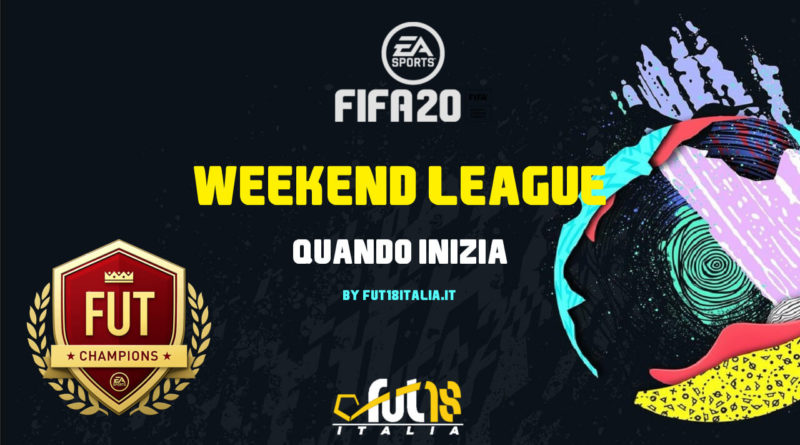 FIFA 20 - Quando inizia la prima Weekend League