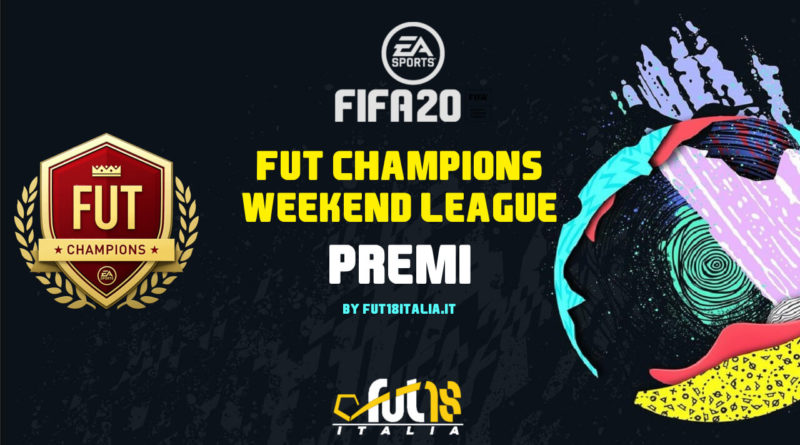 FIFA 20: premi FUT Champions Weekend League