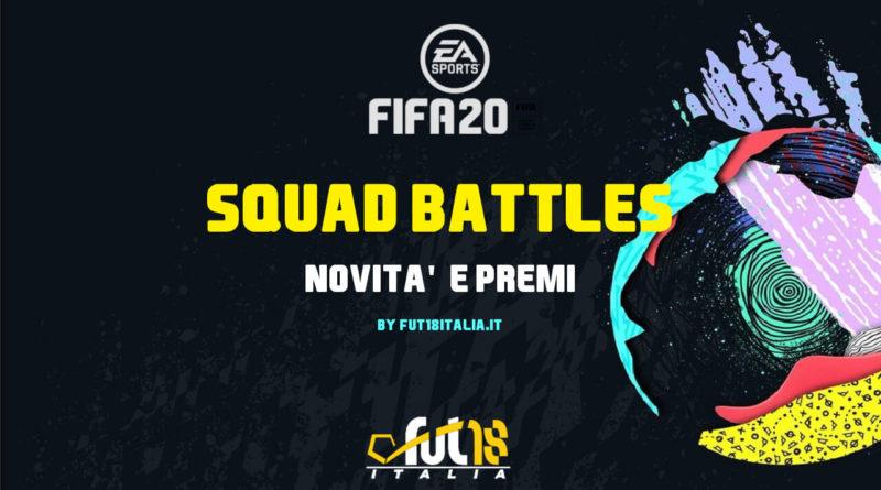 FIFA 20: novità e premi in Squad Battles