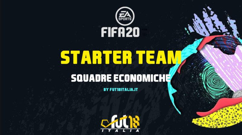 FIFA FUT 20: starter team economici