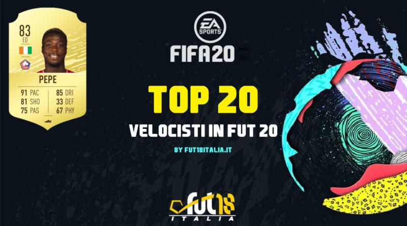 FIFA 20 - TOP 20 velocisti in FUT